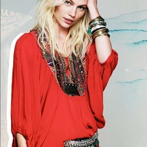 Free People Fortune Teller Blouse